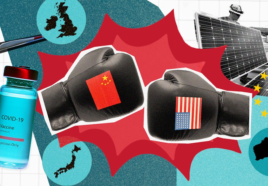 Risk 4: US-China tensions broaden in Eurasia Group's Top Risks 2021 report.